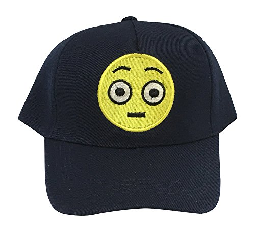 Emoji Embroidered Baseball Cap