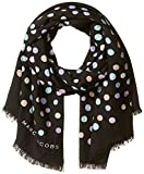 Marc Jacobs Women's Pastel Dot Large Scarf, black/Multi, One Size