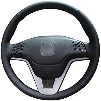 Amazon.com: Mewant Black Genuine Leather Car Steering