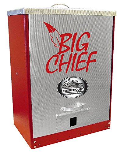 Smokehouse Products 9894-000-BLCK Black Big Chief Front Load