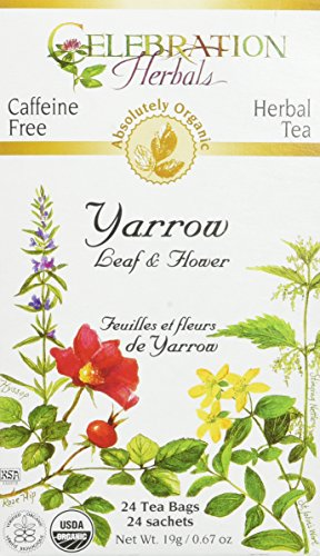 Yarrow Leaf Flower Celebration Herbals