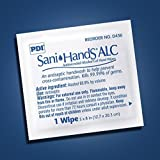 MCK43601100 - Professional Disposables Sanitizing Skin Wipe Sani-Hands ALC Individual Packet Alcohol
