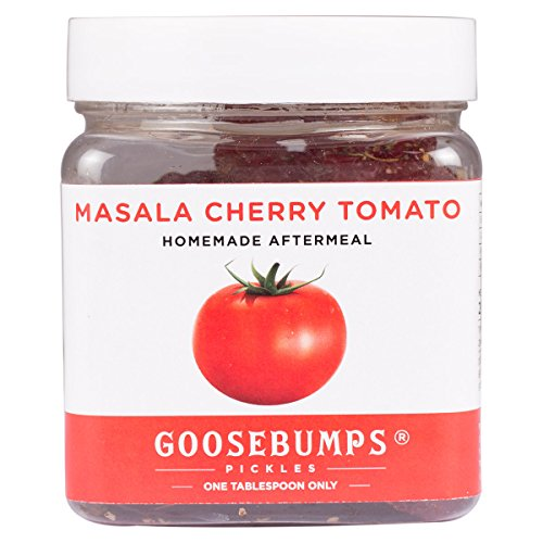 Goosebumps Pickles Home Made Masala Cherry Tomato After Meal (8.8Oz / 250G) Cherry Pickles
