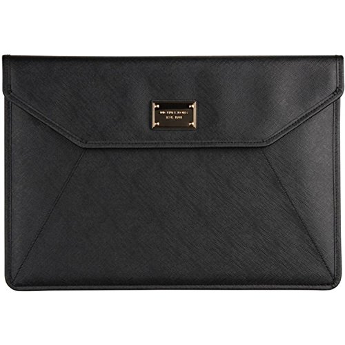 "Price comparison product image Michael Kors Sleeve for Apple MacBook Air 13"" w / two snap closure - Black"