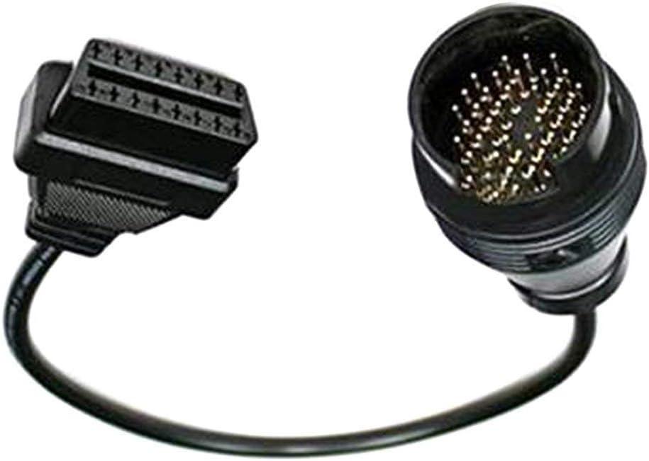 Uteruik 38/Broches vers OBDII OBD2/16/Broches de Diagnostic connecteur Adaptateur c/âble pour Mercedes Benz