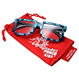grinderPUNCH KIDS Children's 8-Bit Pixel Retro Novelty Gamer Sunglasses Ages - Best Reviews Guide