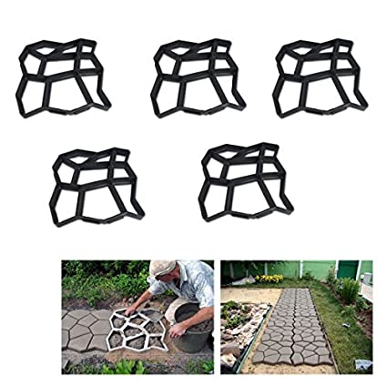 HG® Molde para pavimento de adoquines, molde para acera, molde de empedrado huigou