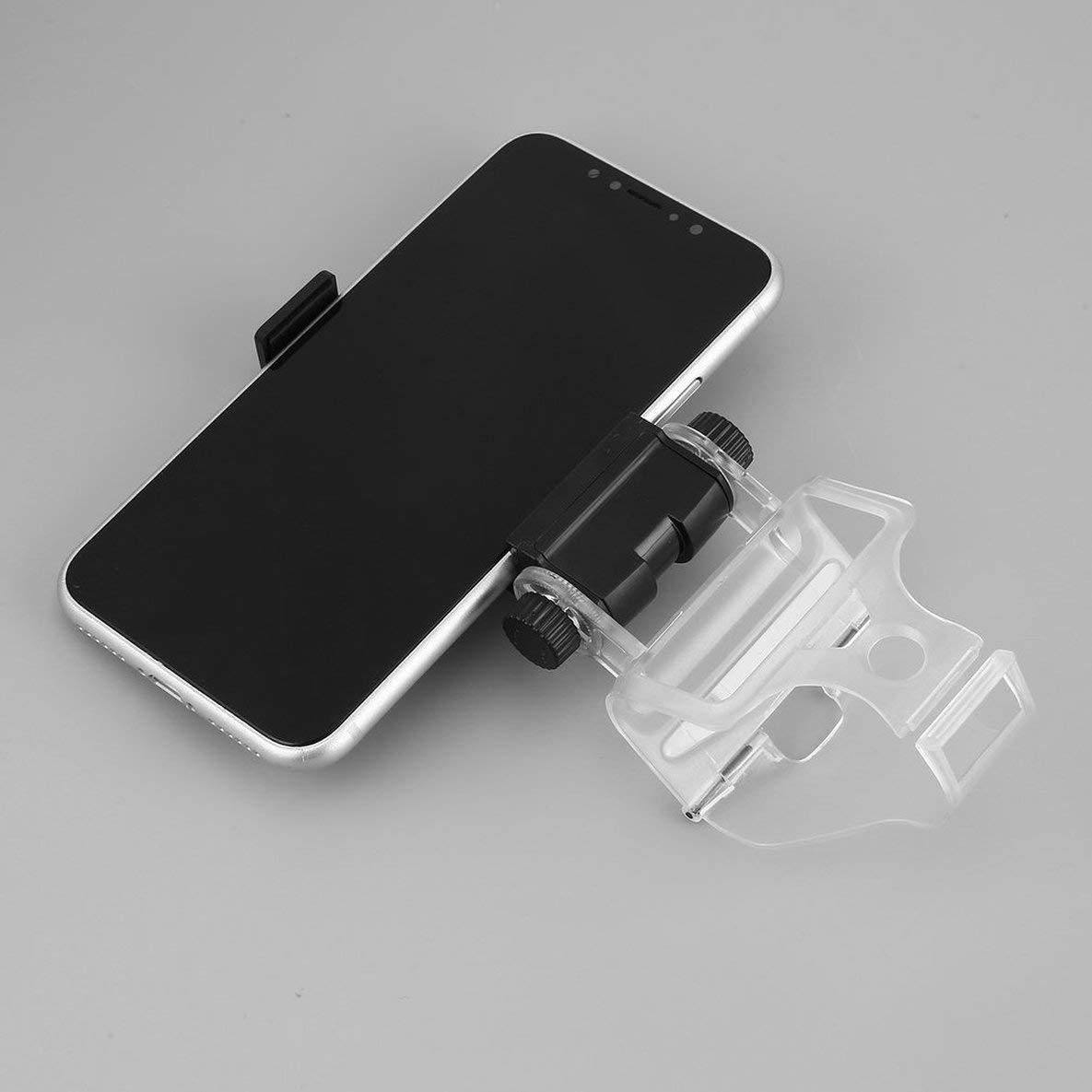 Noradtjcca Support t/él/éphone Portable Pince Support de Montage pour Playstation 4 pour PS4 Contr/ôleur de Jeu Support Clip Clip avec c/âble USB Noir