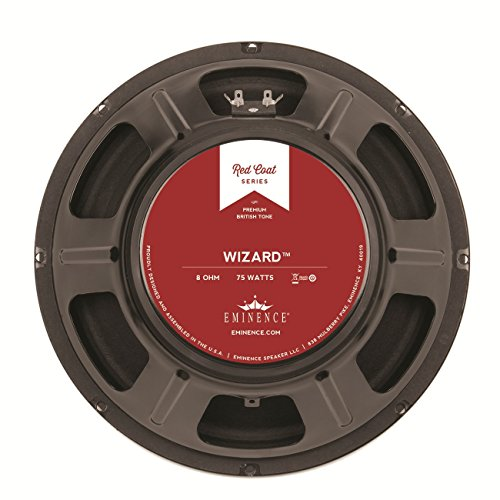 Eminence Red Coat Wizard 12'' Guitar Speaker, 75 Watts at 8 Ohms by Eminence