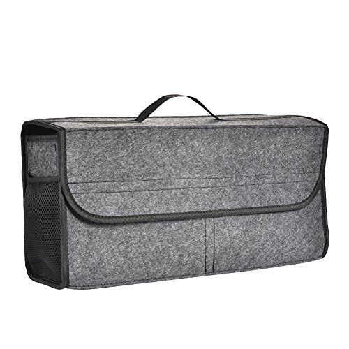 Storage Bag, Foldable and Durable with Partition Board for SUV, Truck ()