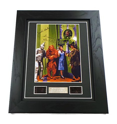 Wizard of Oz Signed + Wizard of Oz Film Cells Framed by artcandi ()