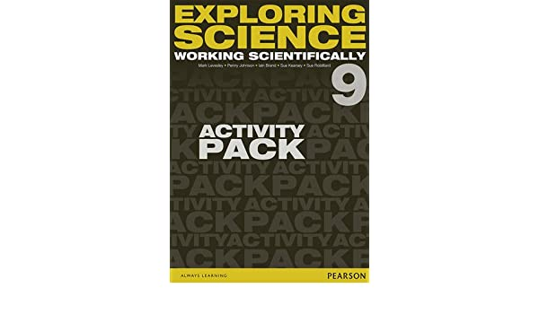 Exploring Science: Working Scientifically Activity Pack Year 9 ...