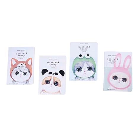 4 X Da Wa Animaux Mignons Ordinateur Portable Dessin Anime Pour