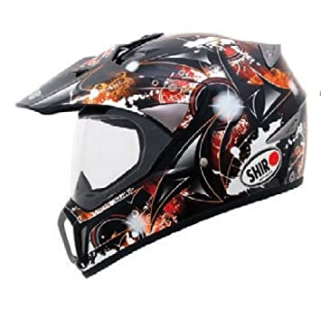 CASCO SHIRO RALLYE SH-310 FIGHTER ROJO