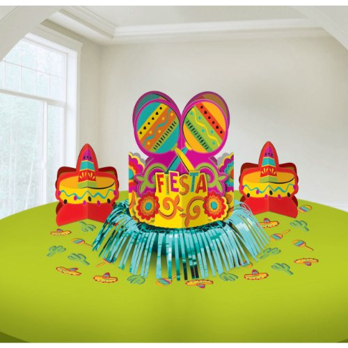 Fun-filled Fiesta Cinco de Mayo Party Table Decorating  Kit