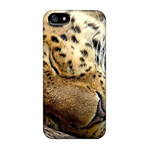 Sleeping Leopard With For Iphone 6 4.7 Plastic cell phone Iphone Hard Cases With Fashion Design covers miao's Customization case