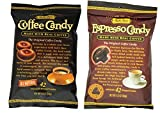 Bali's Best 100% Natural Coffee Candy 2 Flavor 6 Bag Variety Bundle: (3) Bali's Best Coffee Candy, and (3) Bali's Best Espresso Candy, 5.3 Oz. Ea. (6 Bags Total)
