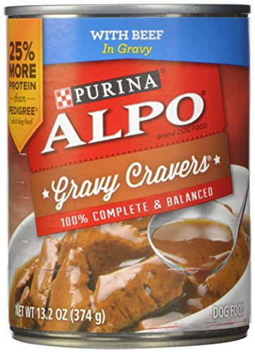 Purina Alpo Gravy Cravers Beef and Chicken Variety Packs 9.9-pound, Pack of 12 (Alpo Can Dog Food compare prices)