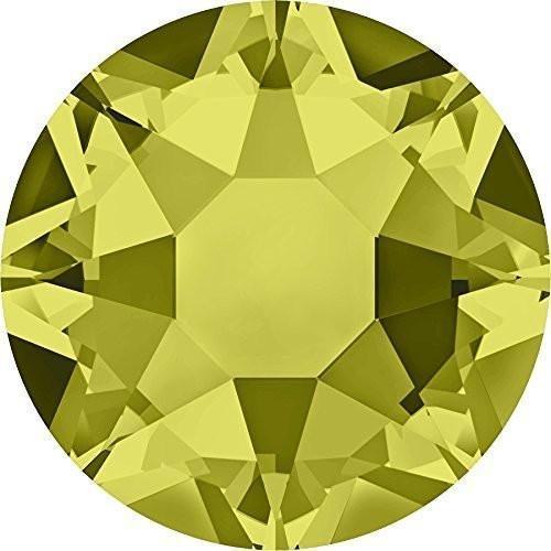 (2000, 2038 & 2078 Swarovski Flatback Crystals Hotfix Khaki | SS12 (3.1mm) - Pack of 100 | Small & Wholesale Packs)