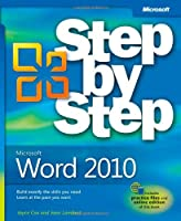 Microsoft Word 2010 Step by Step Front Cover