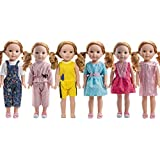 WYHTOYS 6PCS doll Clothes fits 14 inch 14.5inch doll American Girl Wellie Wishers dolls