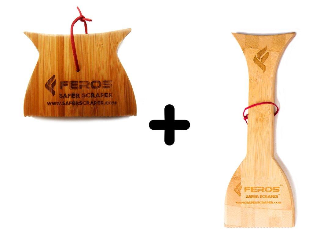 FEROS KIT - (2 Items!) Mini Safer Scraper + Safer Scraper by FEROS