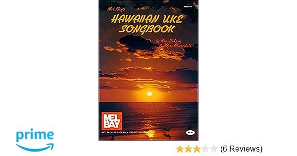 Mel Bay Hawaiian Uke Tunebook Ken Eidson Ross Cherednik