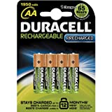 Duracell AA4 Rechargeable Battery 1950 mAh 4 Count