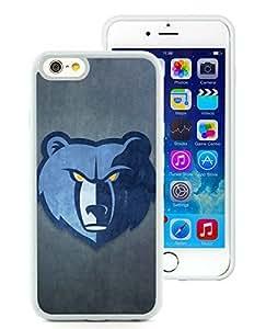 New Custom Design Cover Case For iPhone 6 4.7 Inch Memphis Grizzlies 2 White Phone Case wangjiang maoyi