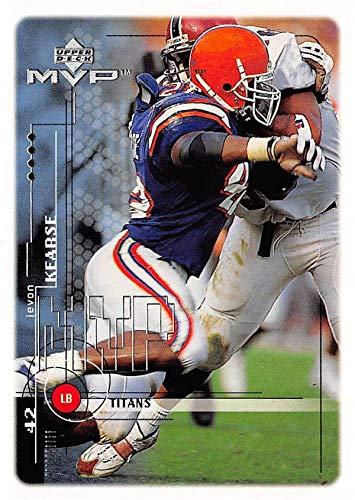 Jevon Kearse football card (Florida Gators) 1999 Upper Deck MVP Rookie  212 e4606d450