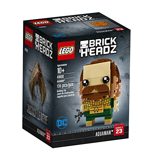 LEGO BrickHeadz Aquaman 41600 Building Kit (135 Piece)