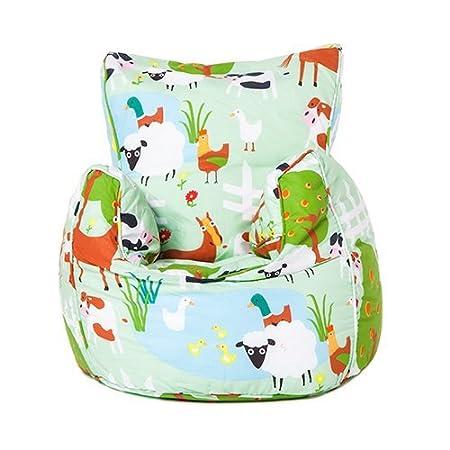 Ready Steady Bed/® Le Farm Design Childrens Bean Bag Chair