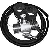 RDS Diesel Install Kit for Auxiliary Diesel Fuel Tank - Fits Chevy/GMC Trucks 1999 - 2010, Model# 011029