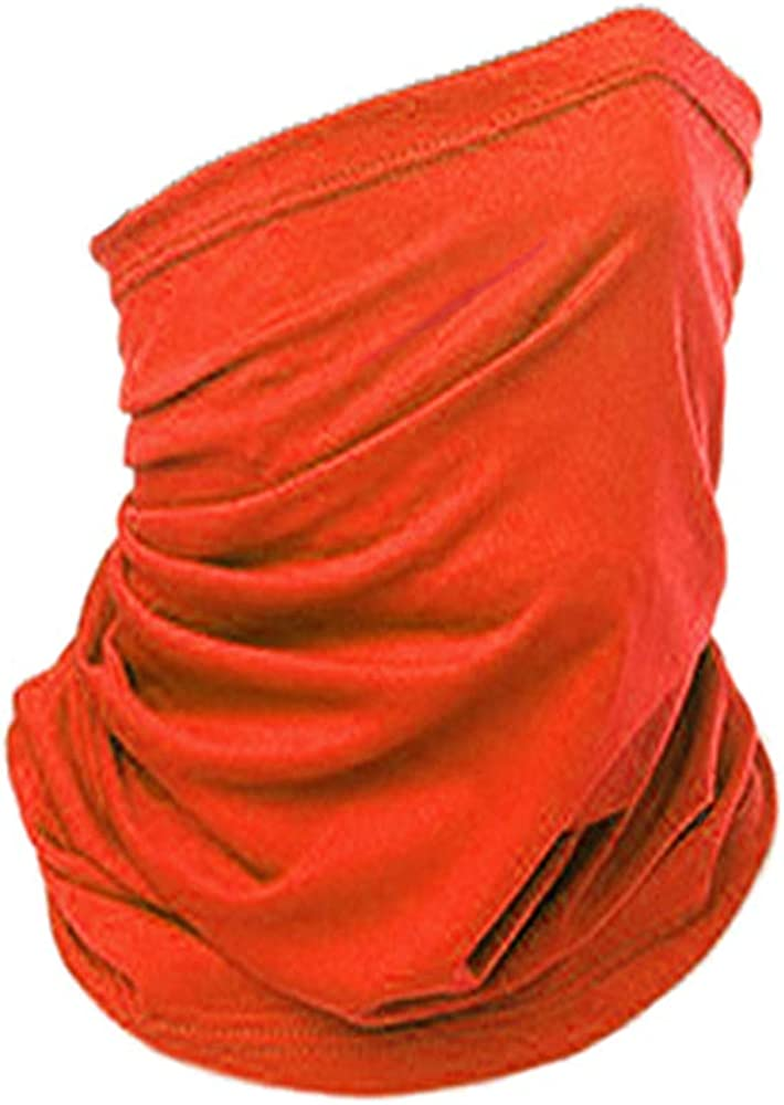 12 in 1 Seamless Face Mask Neck Gaiters Cover Bandanas Sun Protector Mask Headwear Face Scarf Headband for Women Men
