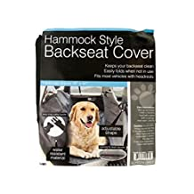Hammock Style Car Backseat Cover Protector for Pets - Dogs, Cats, Animals