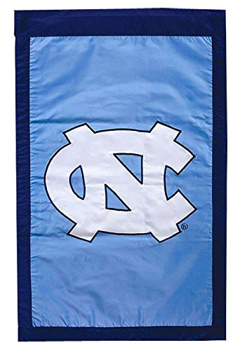 University of North Carolina - 28'' x 44'' Double Sided Appliqued NCAA Banner