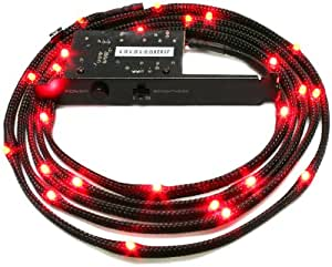 NZXT CB-LED20-RD - Cable LED, conector 4-pin molex, rojo