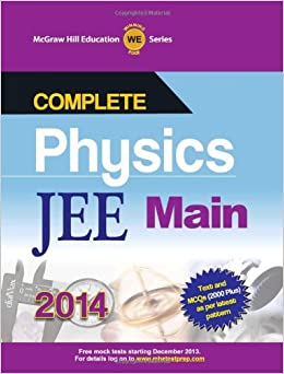 Complete Physics for JEE Main 2014 1st  Edition price comparison at Flipkart, Amazon, Crossword, Uread, Bookadda, Landmark, Homeshop18