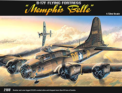 - Academy Hobby Model Kits Scale Model : Airplane & Jet Kits (1/72 B-17F Flying Fortress Memphis Belle)