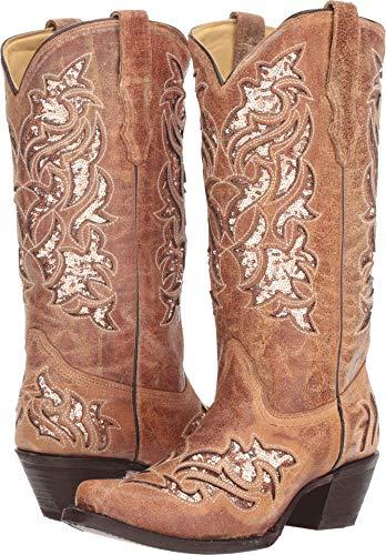 Corral Boots Women's A3578 Cognac 5.5 B US