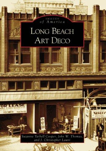 Long Beach Art Deco  (CA)   (Images of America)