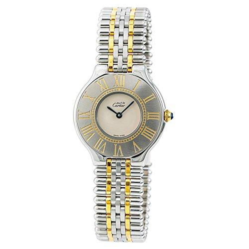 Cartier Must 21 Quartz Female Watch Le Must De (Certified Pre-Owned)