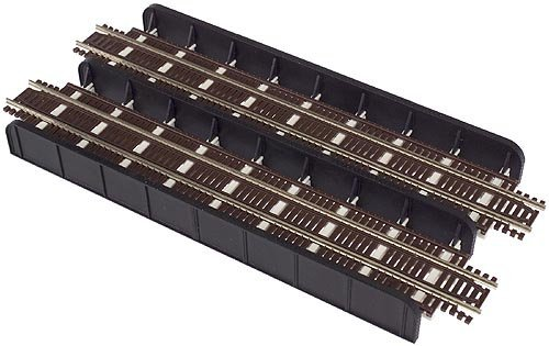 N Code 55 Through Plate Double Track Girder Bridge Kit Atlas - Bridge Atlas Girder Plate