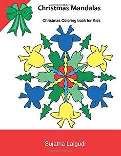 christmas mandalas christmas coloring for kids kids coloring books ages 4 8 - Christmas Mandalas Coloring Book