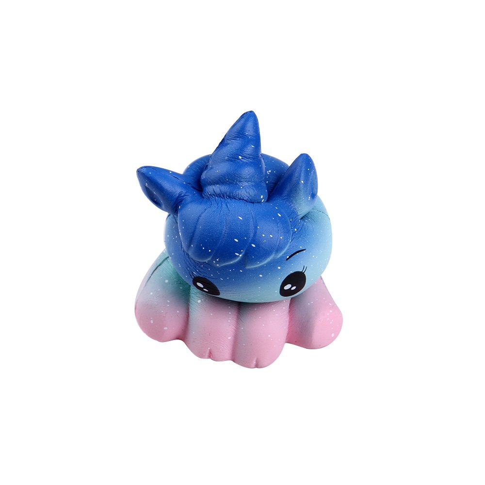 Anboor 4.9 Squishies Unicorn Galaxy Kawaii Soft Slow Rising Scented Animal Squishies Stress Relief Kids Toys