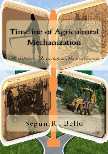 Timeline of Agrcultural Mechanization