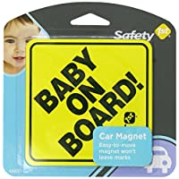 Safety 1st Baby On Board Sign Magnet