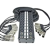 StageMaster 100' Multi-Channel Stage Cable Snake