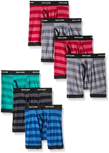 Fruit of the Loom Boys' Boxer Brief (Pack of 7)