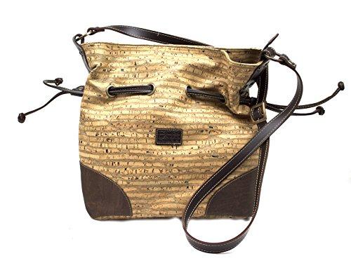 Body Design By Genuine Zebra Dux Bag Woman Cork Cross Premium For Leather Portuguese q4AWwI